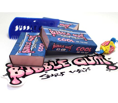 Bubble Gum surf wax cool