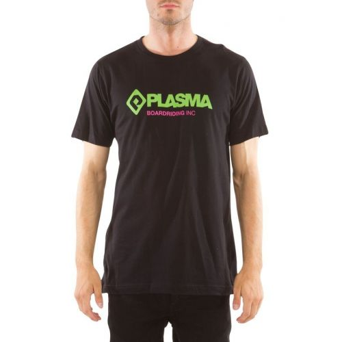 Sort Plasma t-shirt.