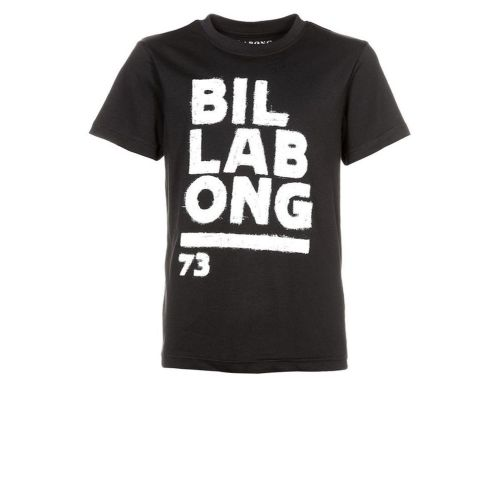 Sort Billabong t-shirt  med hvidt print