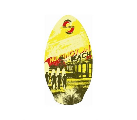 Skimboard 37'' Huntington beach wood Slidz