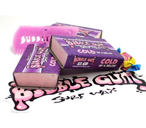 Bubble Gum surf wax cold