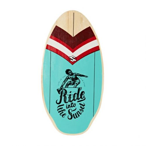 "Skimboard 39"" Sunset ride blue"